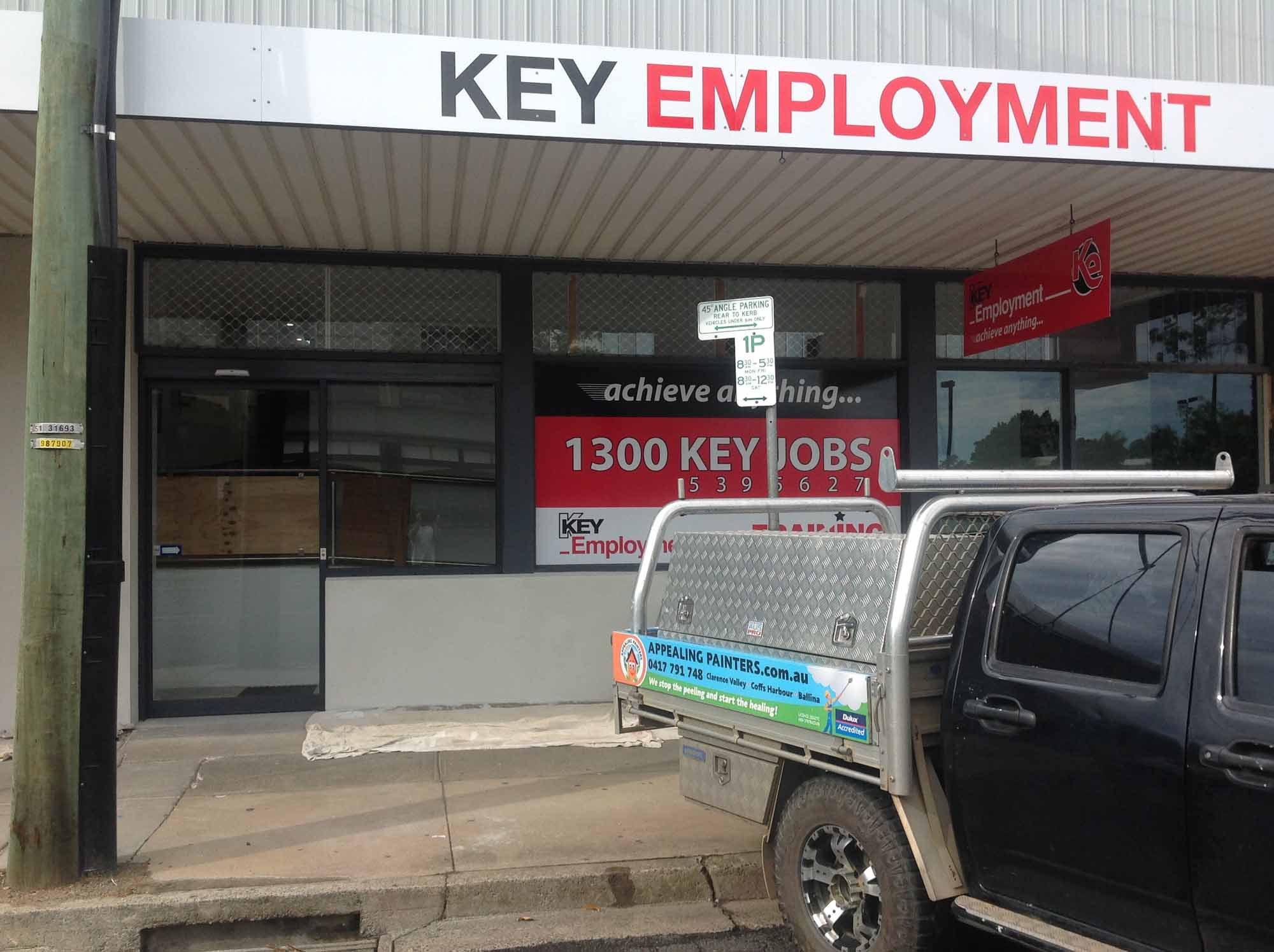 Key Employment Grafton Painting Project