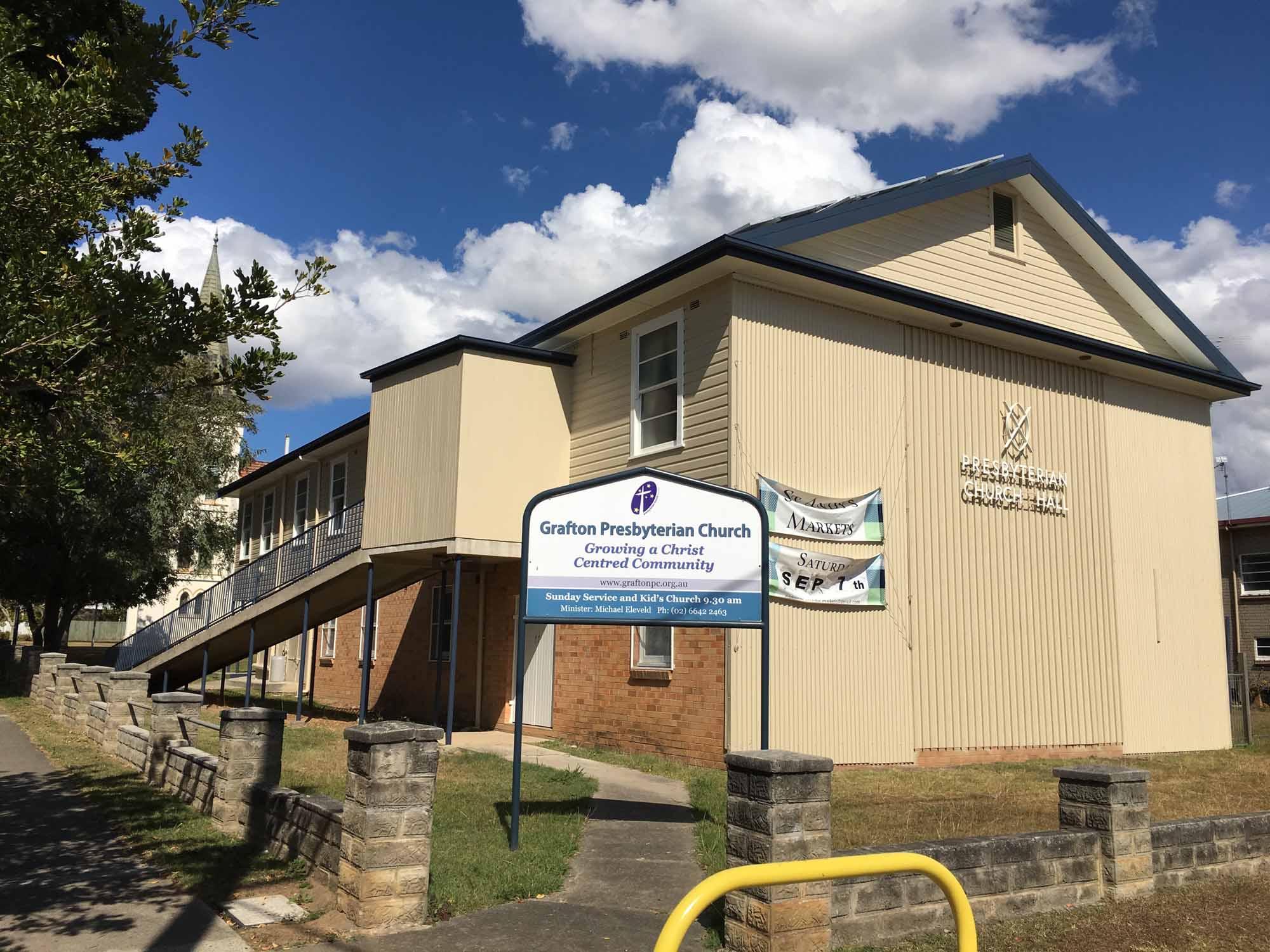 Presbyterian Church Grafton Painting Project